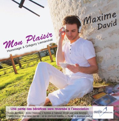 Album du chanteur vend�en Maxime David Rosnay SPECTACLES