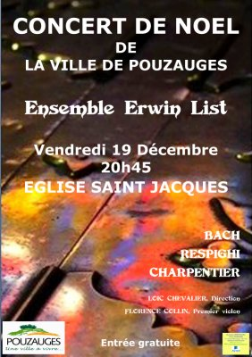 Concert de No�l Pouzauges SPECTACLES