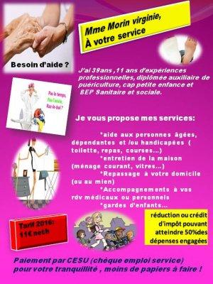 Aide A Domicile Annonce Gratuite Saint Prouant En Vendee SERVICES