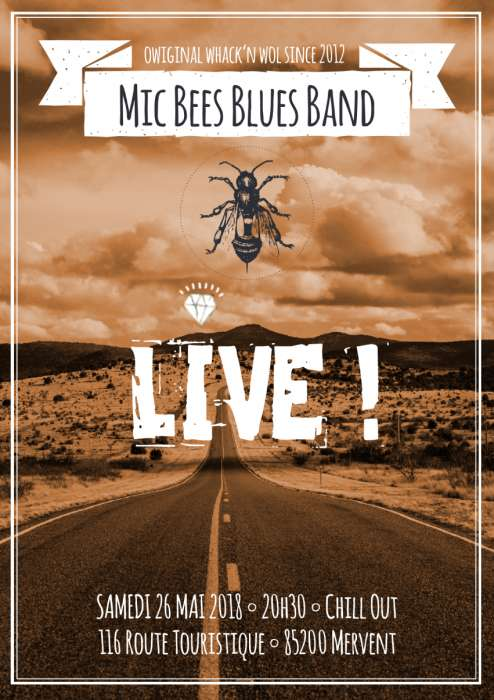 CONCERT BLUES / ROCK 70 annonce gratuite Benet en Vendee SPECTACLES